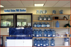 Our Bottled Water Filling Station in Wind Lake and Muskego
