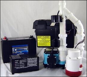 Sump Pump Battery Backup Systems Wind Lake/Muskego Wisconsin